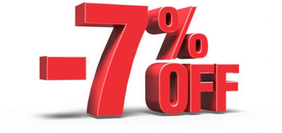Oferta Descompte 7% a la teva reserva. T'oferim els millors preus disponibles.